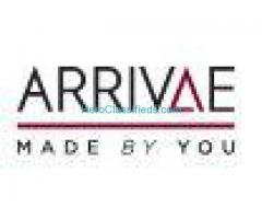 Arrivae: Your Home Interior Solutions. Living Room Interior,Kitchen & More.