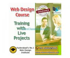 Web Designing Training in Madhapur Hyderabad with Live Projects