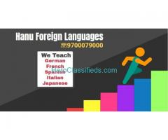 German A1&A2 level Weekend Batches Start at Hanu Foreign languages.