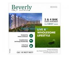 The swanky apartments near the golf range in Mohali