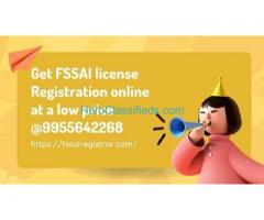 Get your FSSAI license Registration online at a low price @9955642268