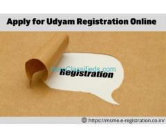 Online MSME/Udyam Registration in India