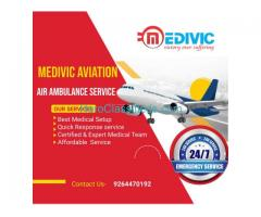 Get the Superlative ICU Air Ambulance Service in Chennai by Medivic Aviation with Finest Amenities