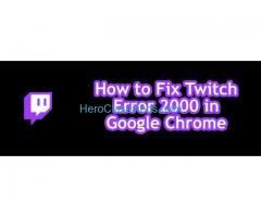 error 2000 twitch