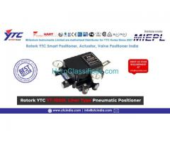 Rotork YTC YT-1200L Linear Type Pneumatic Positioner | YTC INDIA