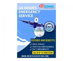Medivic Air Ambulance Services in Gaya with Licensed Respiratory Facilities