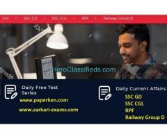 Online Daily Live Classes, Online Test Series, Online Govt Exam Preparation   Paperken