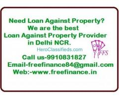 Loan Against Property Provider in Delhi NCR