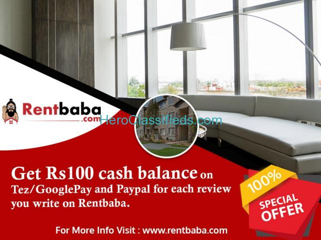 POST A RENTAL REVIEW AND GET RS100 CASH BALANCE ON GOOGLE PAY(TEZ)/PAYPAL ACCOUNT.