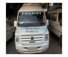 Get Bus, Mini-Bus & Car for Travel on Rent in Delhi