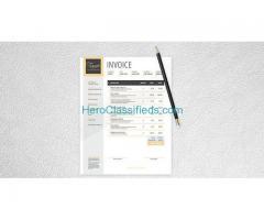 Invoice designs | Bill book design | Invoice design Psd