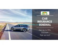 Car Insurance Online get up to 70% Discount