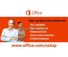 office.com/setup - Enter Office Product key - www.office.com/setup