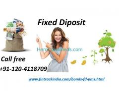 Fixed diposit services fintrack in noida +91-120-4118709