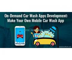 On Demand Car Wash App Development | Mobile Car Cleaning App